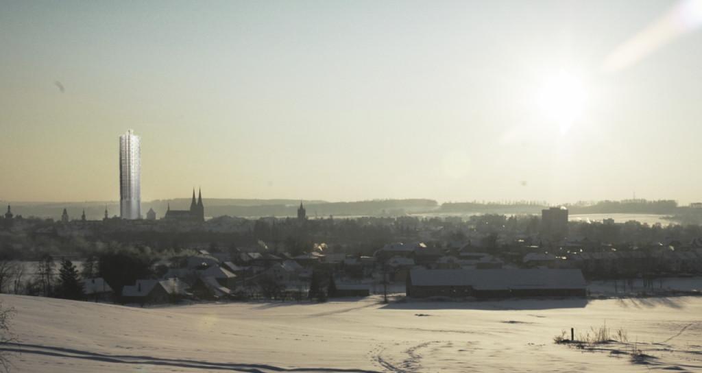 vizualizace: budoucí panorama města