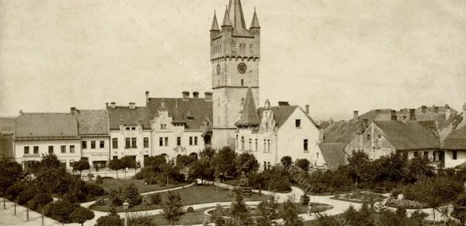 Pohled na Havlíčkovy sady po založení r. 1892 (zdroj: archiv Regionálního muzea ve Vysokém Mýtě)